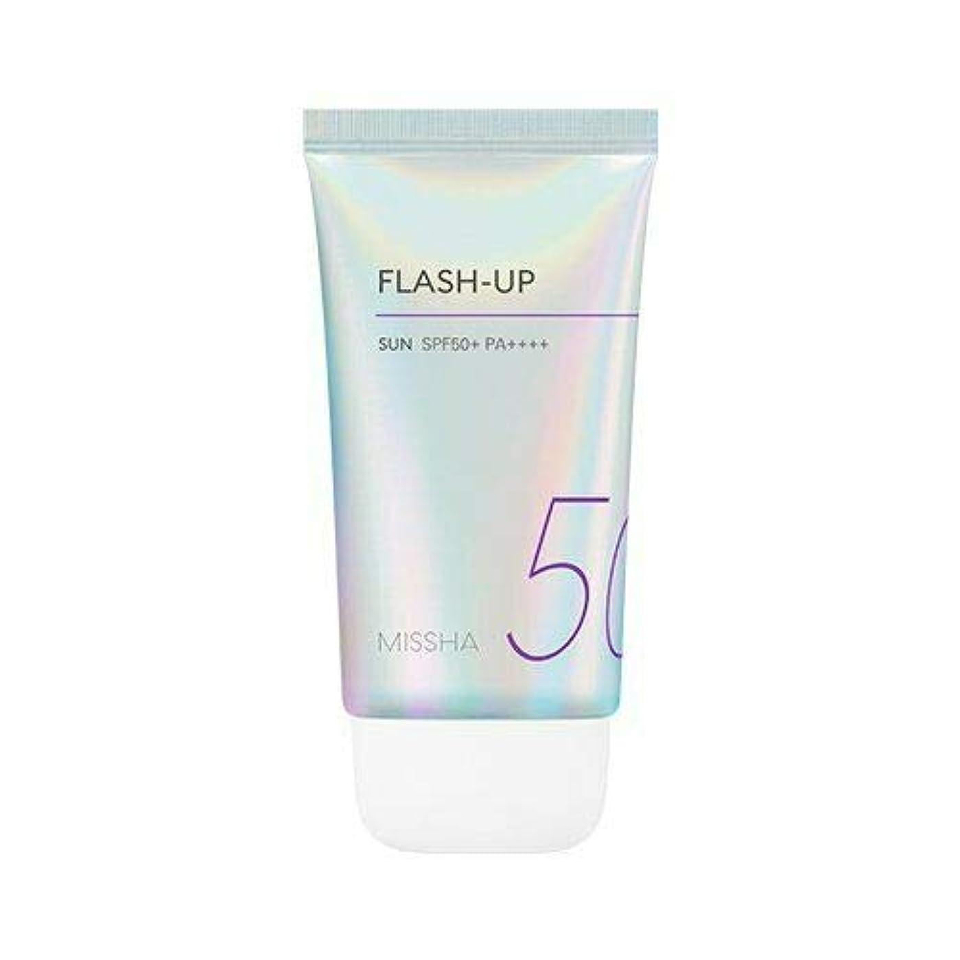 機構建築鉛MISSHA ミシャ Flash-Up Sun 50ml SPF50+/PA++++ 韓国日焼け止め