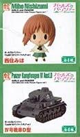 ガールズ&パンツァー でふぉめか ちびパンツァーフィギュア vol.1 西住みほ ・ Ⅳ号戦車D型 2種セット