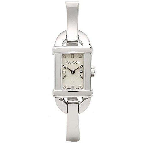 (グッチ) GUCCI 時計 レディース YA068588 6800シリーズ 腕時計 ホワイトパール/シルバー[並行輸入品]