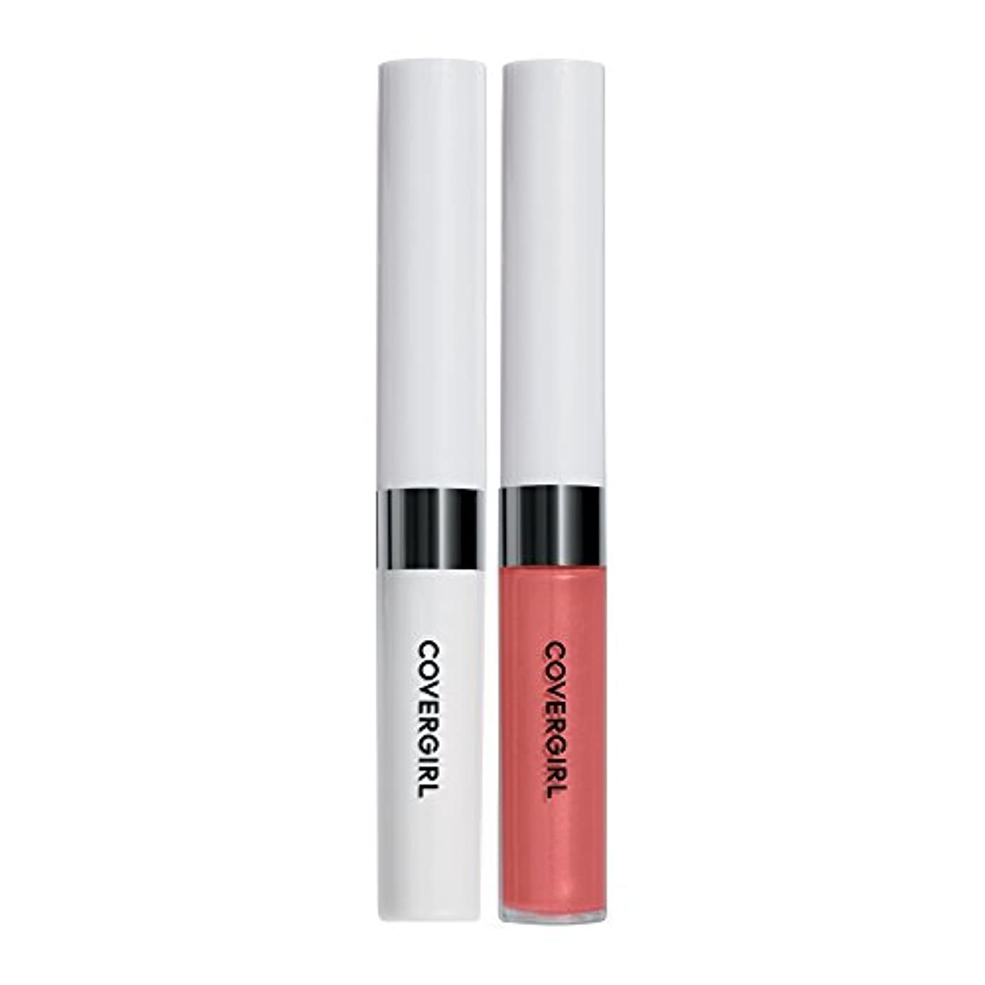 サポートローブレクリエーションCOVERGIRL Outlast All-Day Moisturizing Lip Color, Coral Sunset 512 [並行輸入品]