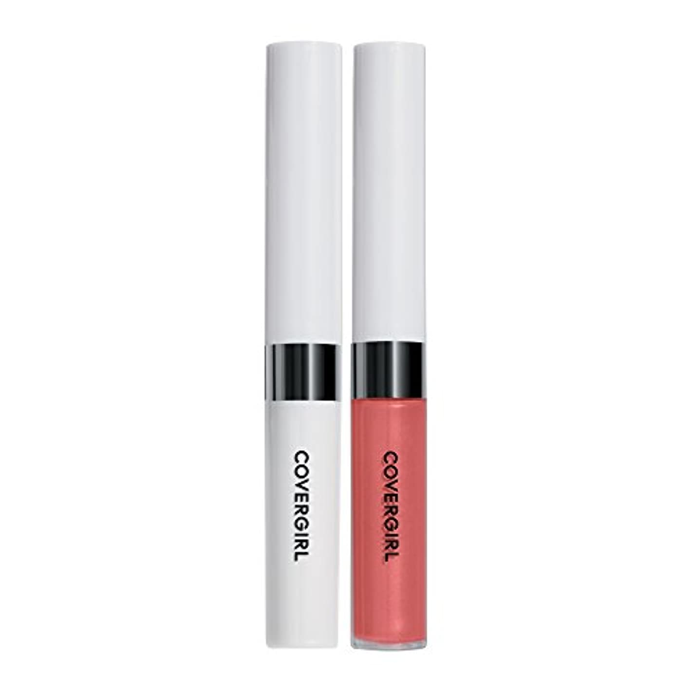 恐れ理想的には顕現COVERGIRL Outlast All-Day Moisturizing Lip Color, Coral Sunset 512 [並行輸入品]