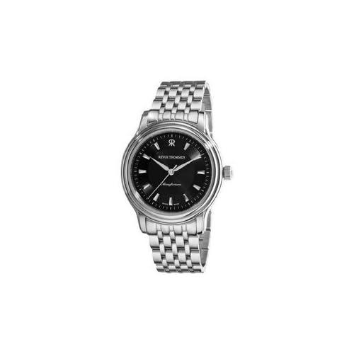 腕時計 Revue Thommen Men's 12200.2134 Classic Mens Stainless Steel Automatic Watch Watch [並行輸入品]