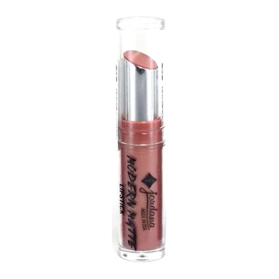 感情ナイロン頬骨(3 Pack) JORDANA Modern Matte Lipstick - Matte Blush (並行輸入品)