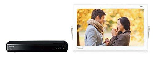 パナソニック 15V型 ポータブル液晶テレビ 防水タイプ 500GB ブルーレイディスクプレイヤー/HDDレコーダー付き プライベート・ビエラ ホワイト UN-15TD6-W