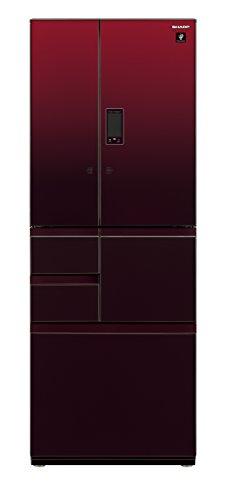 シャープ メガフリーザー 冷蔵庫 502L グラデーションレッド SJ-GX50D-R