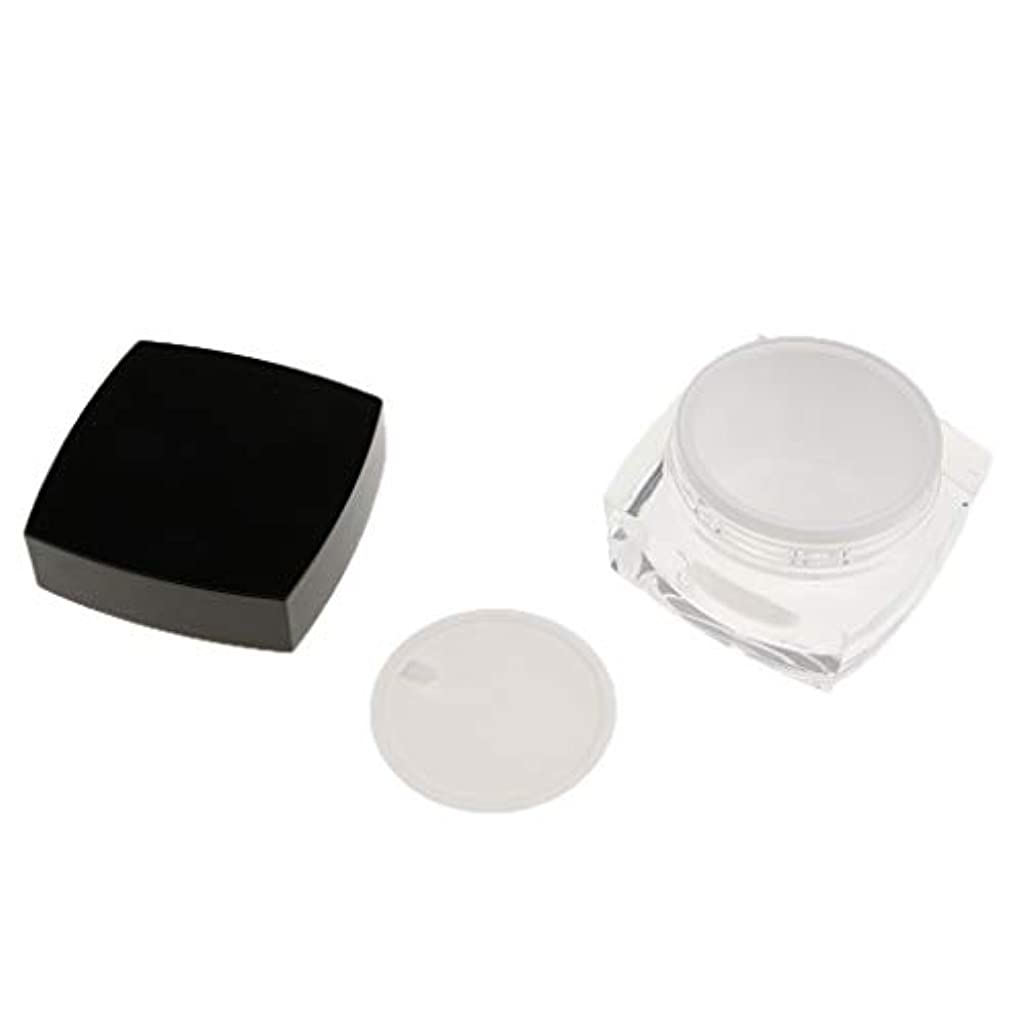 きれいにハッチ色合いPerfeclan 化粧品容器 プロ 容器 メイクアップ クリームジャー 瓶 小分けツール 2サイズ選べ - 50g