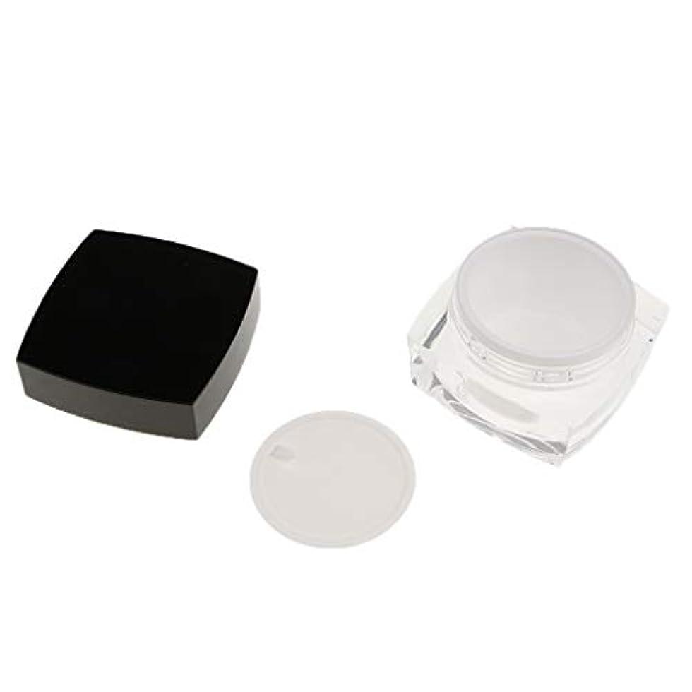 一緒に非公式絵Perfeclan 化粧品容器 プロ 容器 メイクアップ クリームジャー 瓶 小分けツール 2サイズ選べ - 50g