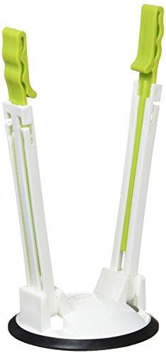 AOZORA(あおぞら) キッチンストッカー グリーン 9×18~27cm