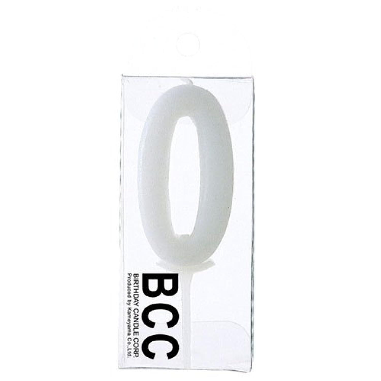 ナンバーキャンドル【0】T 数字ロウソク