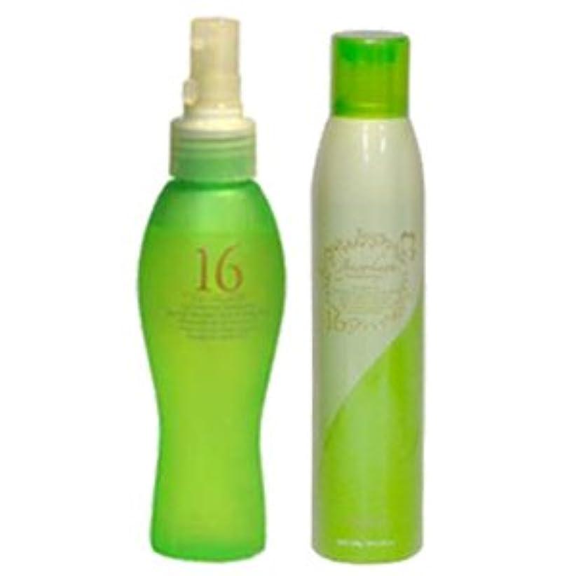 スリラースリッパ清めるハホニコ 十六油 120mL + 十六油 ツヤスプレー 180g セット [Shampoo-land限定]