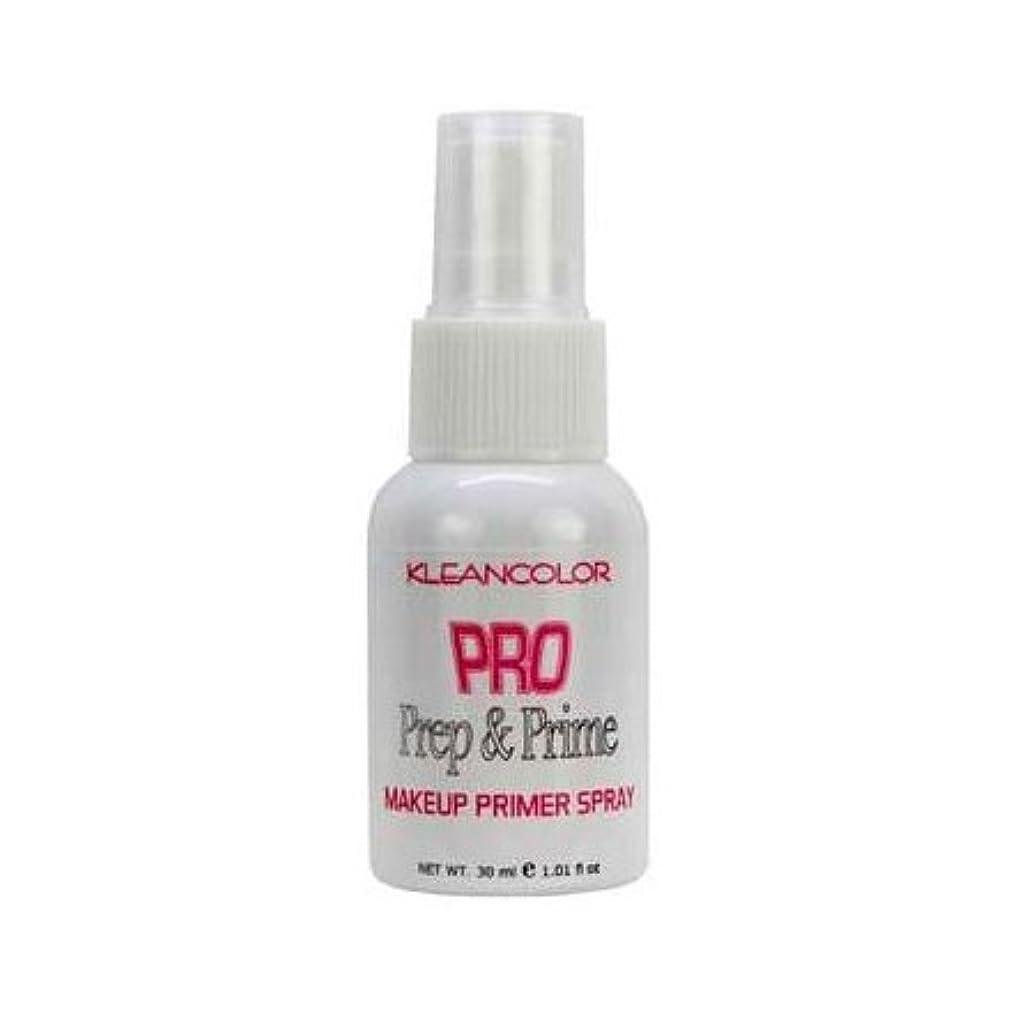 定期的なから共産主義者(6 Pack) KLEANCOLOR Pro Prep and Prime - Makeup Primer Spray (並行輸入品)