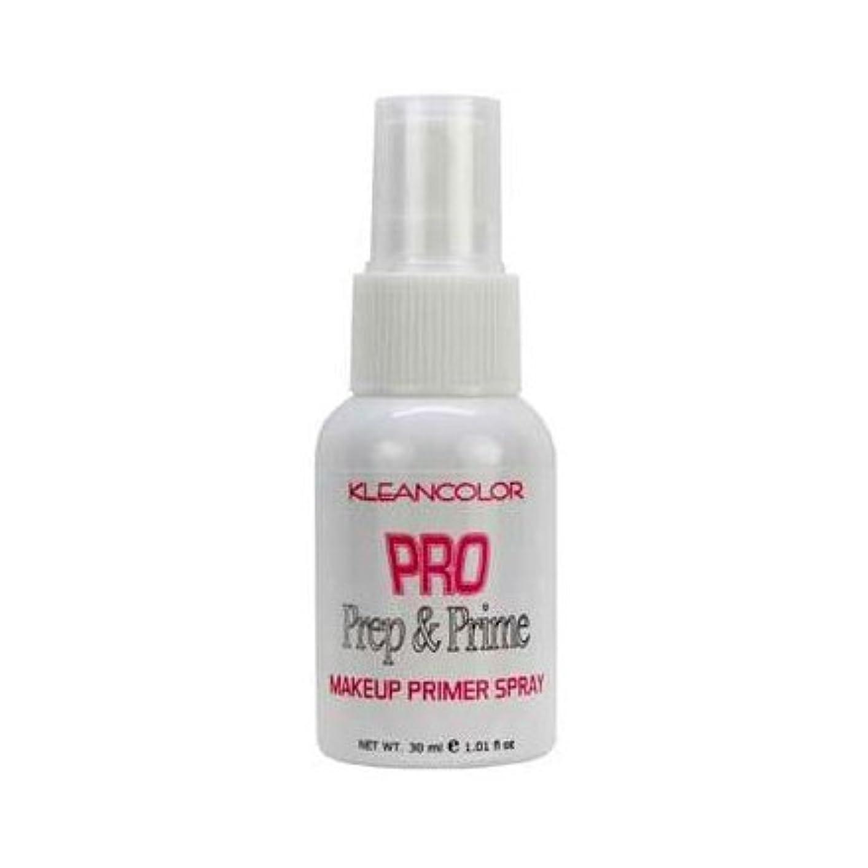 マスタード植物学著者(6 Pack) KLEANCOLOR Pro Prep and Prime - Makeup Primer Spray (並行輸入品)