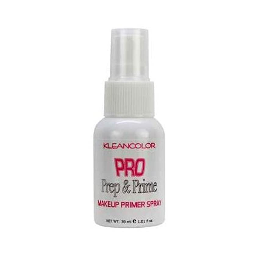 決済尋ねるしなやかな(6 Pack) KLEANCOLOR Pro Prep and Prime - Makeup Primer Spray (並行輸入品)