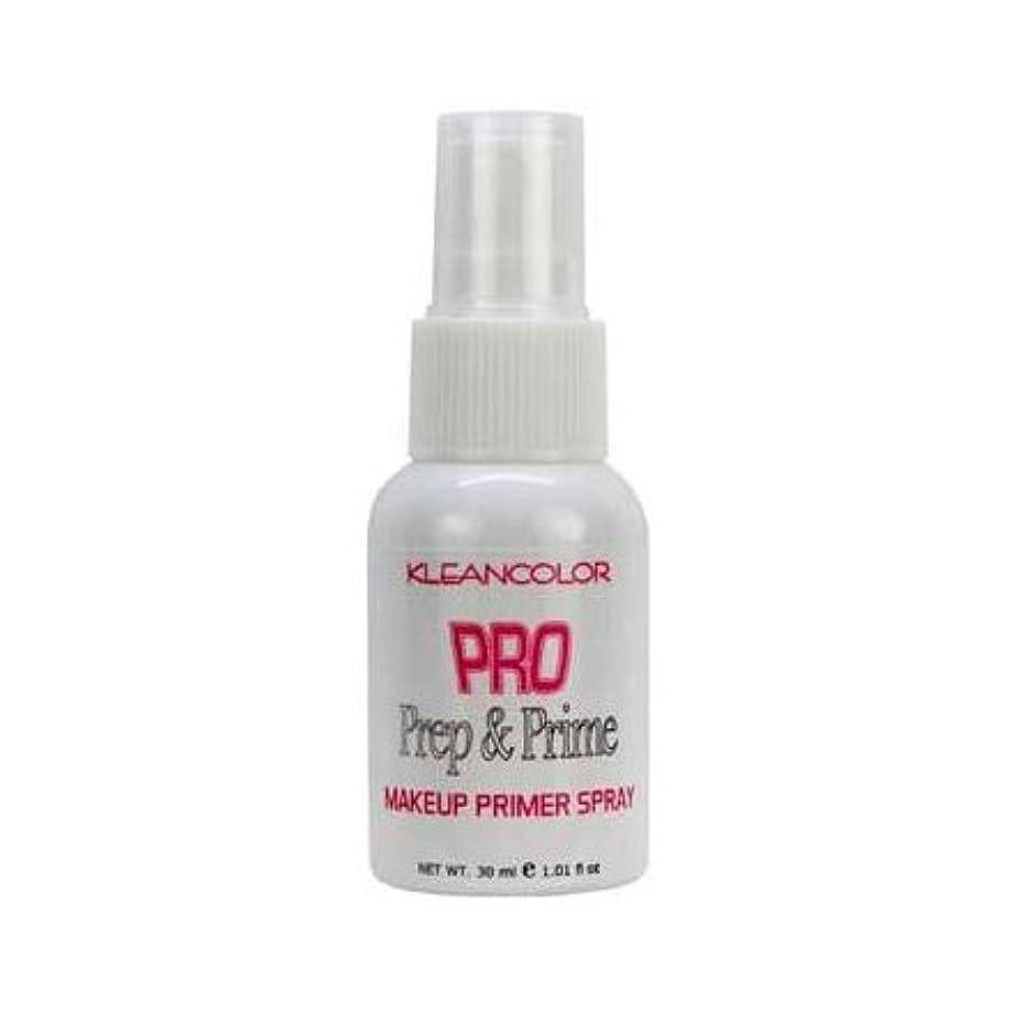 荒れ地スタッフメッセンジャー(6 Pack) KLEANCOLOR Pro Prep and Prime - Makeup Primer Spray (並行輸入品)