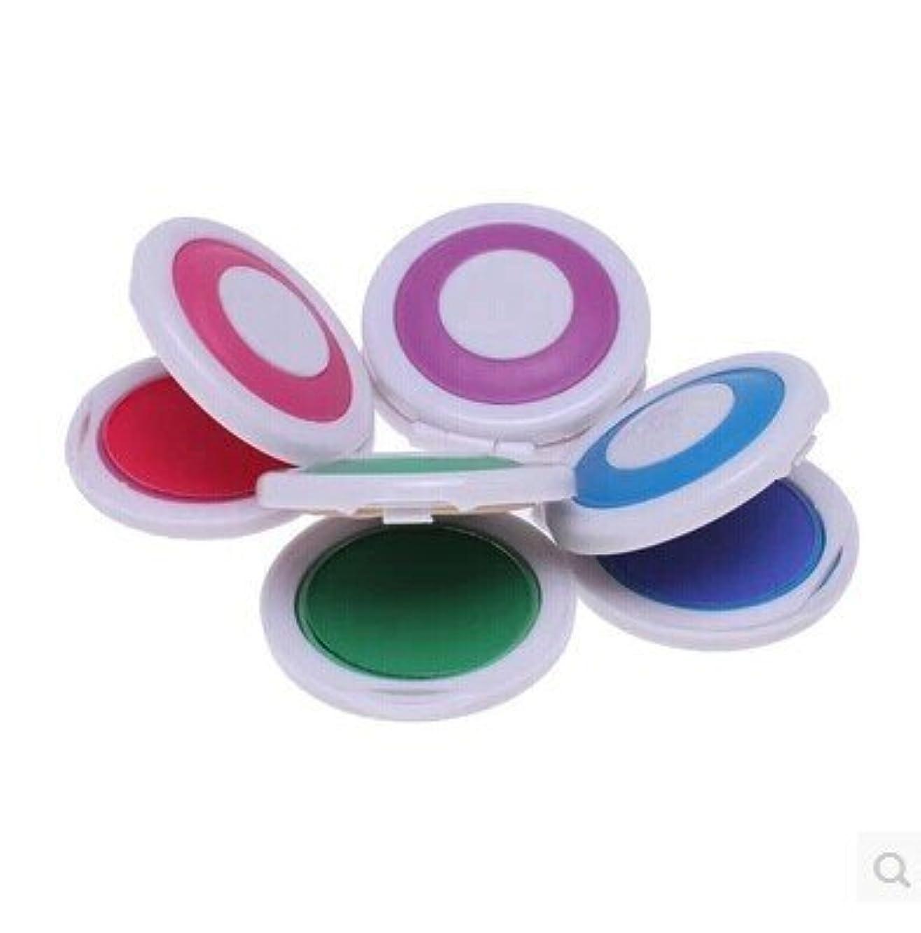 貫入ほかに第三MakeupAcc ヘアカラーチョーク ヘアカラーファンデーション ヘアカラーパウダー パーフェクトパウダー 4色 ピンク 紫 緑 ブルー (105g)