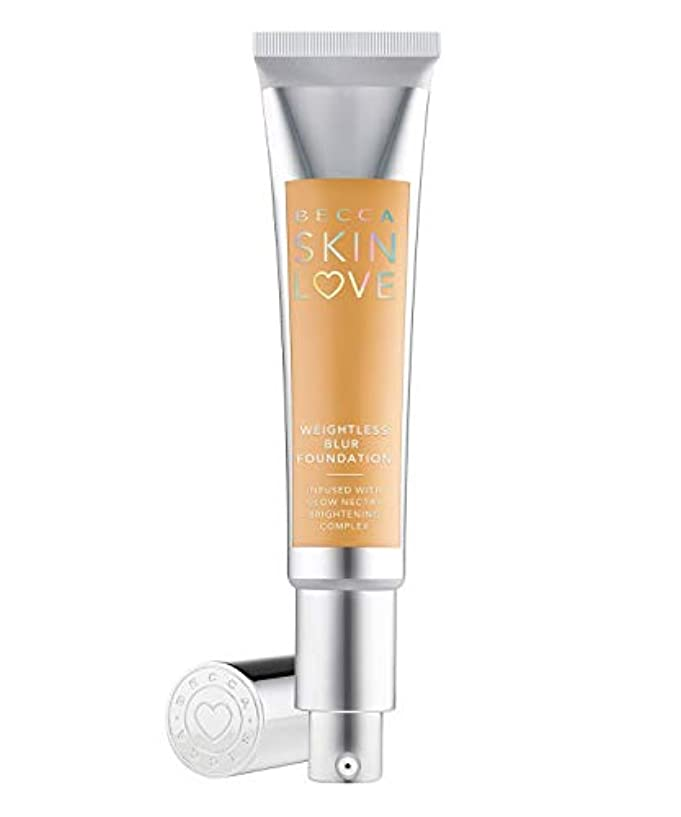 クローゼット谷佐賀ベッカ Skin Love Weightless Blur Foundation - # Buttercup 35ml/1.23oz並行輸入品