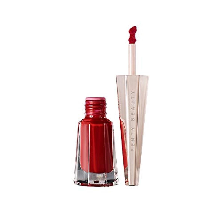 ヘルメット相関する真空【並行輸入品】FENTY BEAUTY BY RIHANNA Stunna Lip Paint Longwear Fluid Lip Color Uncensored - perfect universal red