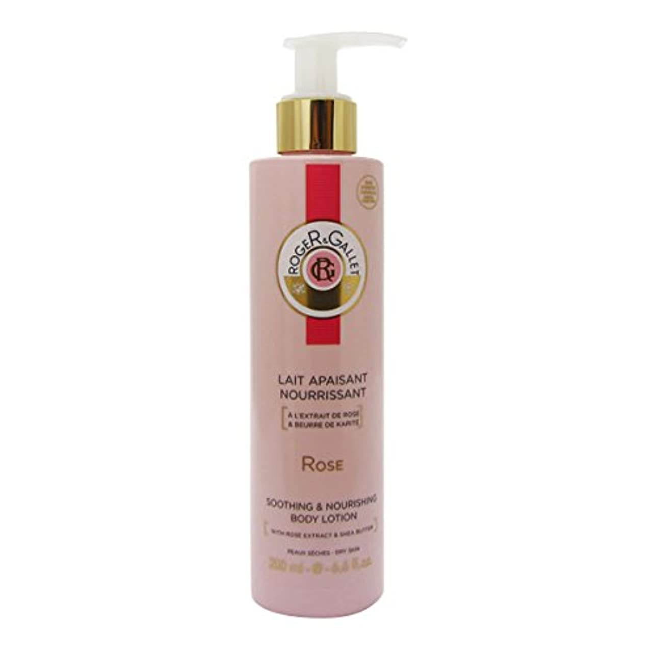 散髪過敏なイースターRoger Gallet Rose Soothing And Nourishing Body Lotion 200ml [並行輸入品]