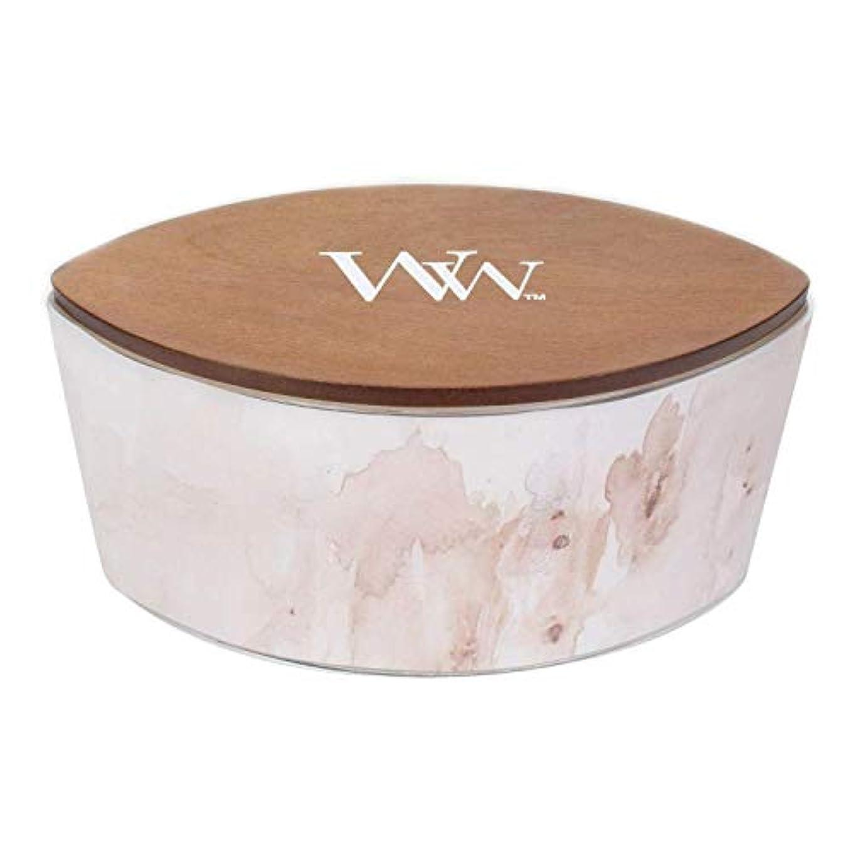 神経に同意するバットバニラSolアーティザンコレクション楕円WoodWick香りつきJar Candle