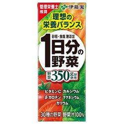 伊藤園 1日分の野菜 紙パック200ml×24本入