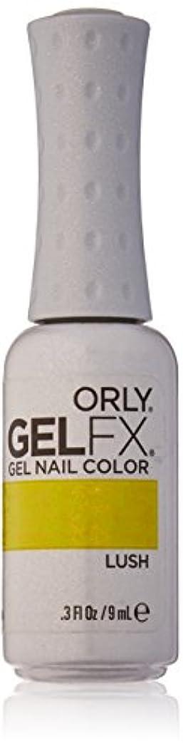 セールスマン遺跡釈義Orly GelFX Gel Polish - Lush - 0.3oz / 9ml