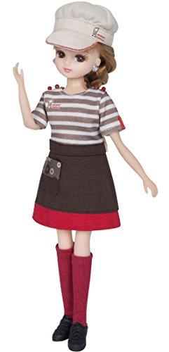 リカちゃん ドレス ミスタードーナツてんいんさんドレス