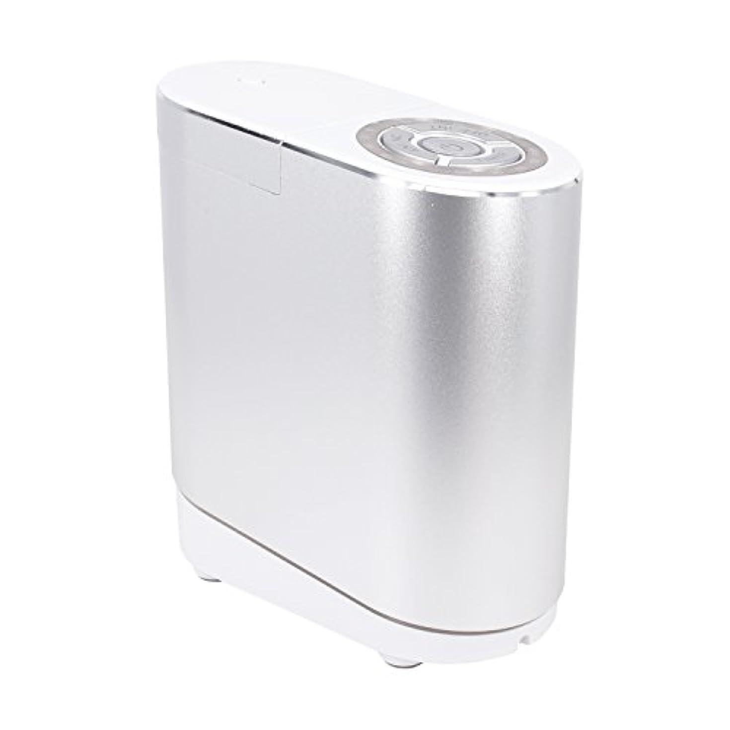 伝導率支給等LNSTUDIO アロマディフューザー ネブライザー式 2個30ML専用精油瓶付き アロマ芳香器 タイマー機能付 ミスト量調整可