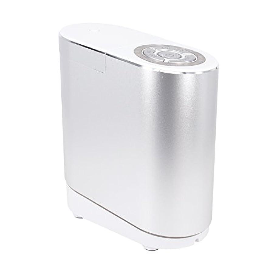 睡眠屋内シフトLNSTUDIO アロマディフューザー ネブライザー式 2個30ML専用精油瓶付き アロマ芳香器 タイマー機能付 ミスト量調整可