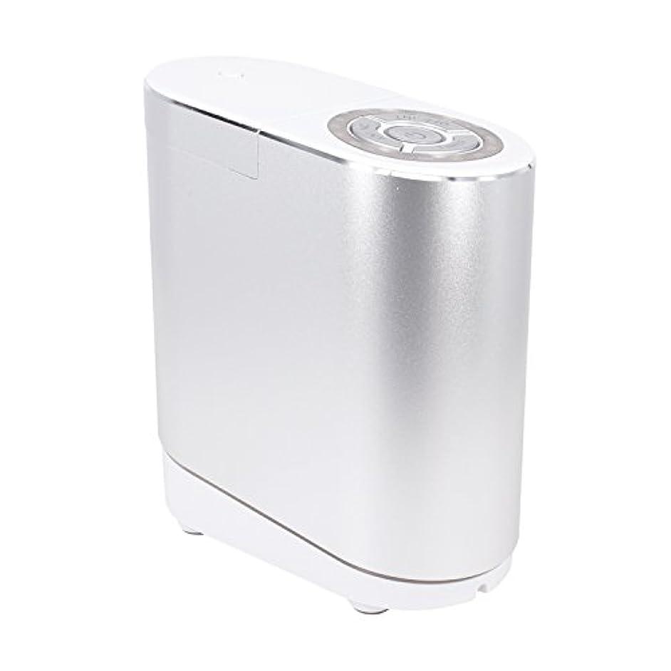 ミネラル釈義明確なLNSTUDIO アロマディフューザー ネブライザー式 2個30ML専用精油瓶付き アロマ芳香器 タイマー機能付 ミスト量調整可