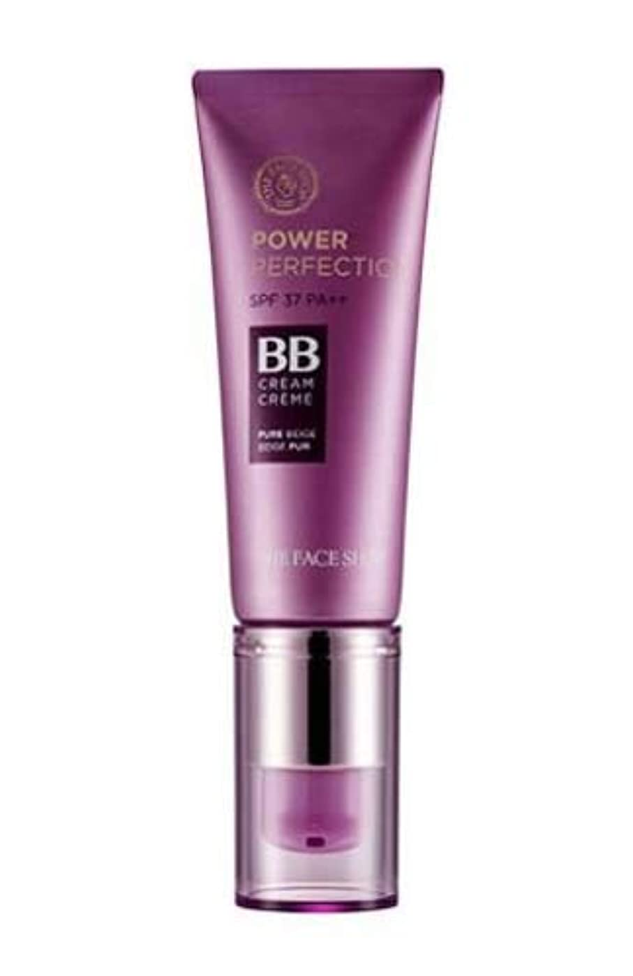 圧縮ヒギンズ贅沢な[ザ?フェイスショップ] THE FACE SHOP [パワー パーフェクションBBクリーム 20g] Power Perfection BB Cream SPF37PA++ (V203 - Natural Beige)