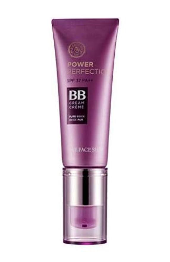 海港利益革命的[ザ?フェイスショップ] THE FACE SHOP [パワー パーフェクションBBクリーム 20g] Power Perfection BB Cream SPF37PA++ (V203 - Natural Beige)