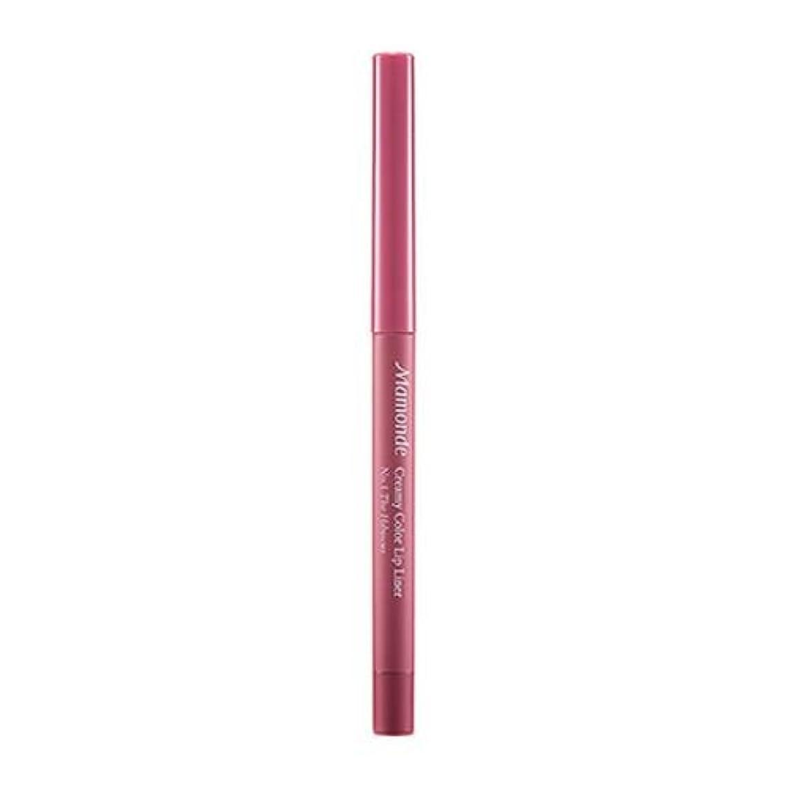 広く分泌する舌Mamonde Creamy Color Lipliner 0.3g/マモンド クリーミー カラー リップライナー 0.3g (#1 The Hibiscucs) [並行輸入品]