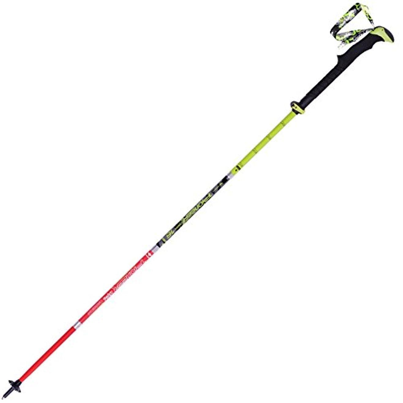フィールド熟す漁師折り畳みトレッキングポール, 軽量 杖?ステッキ 炭素繊維 5 スティック ハイキング ステッキ 登山装備 男性の杖?ステッキ