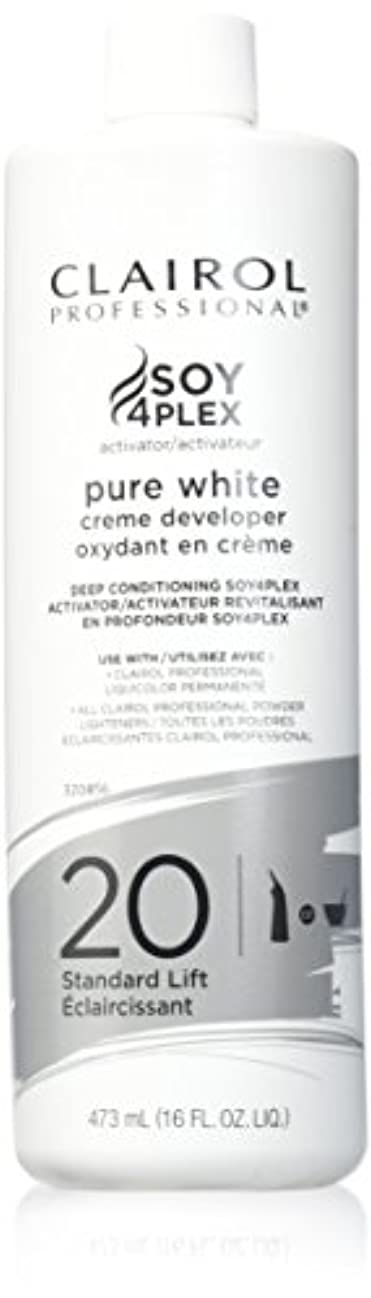 ヘビ代わって下線CLAIROL PURE WHITE 20 CREME DEVELOPER STANDARD LIFT 470 ml