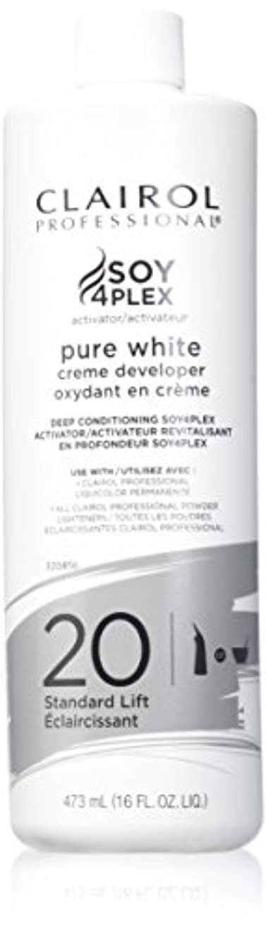 どういたしましてコカイン持参CLAIROL PURE WHITE 20 CREME DEVELOPER STANDARD LIFT 470 ml