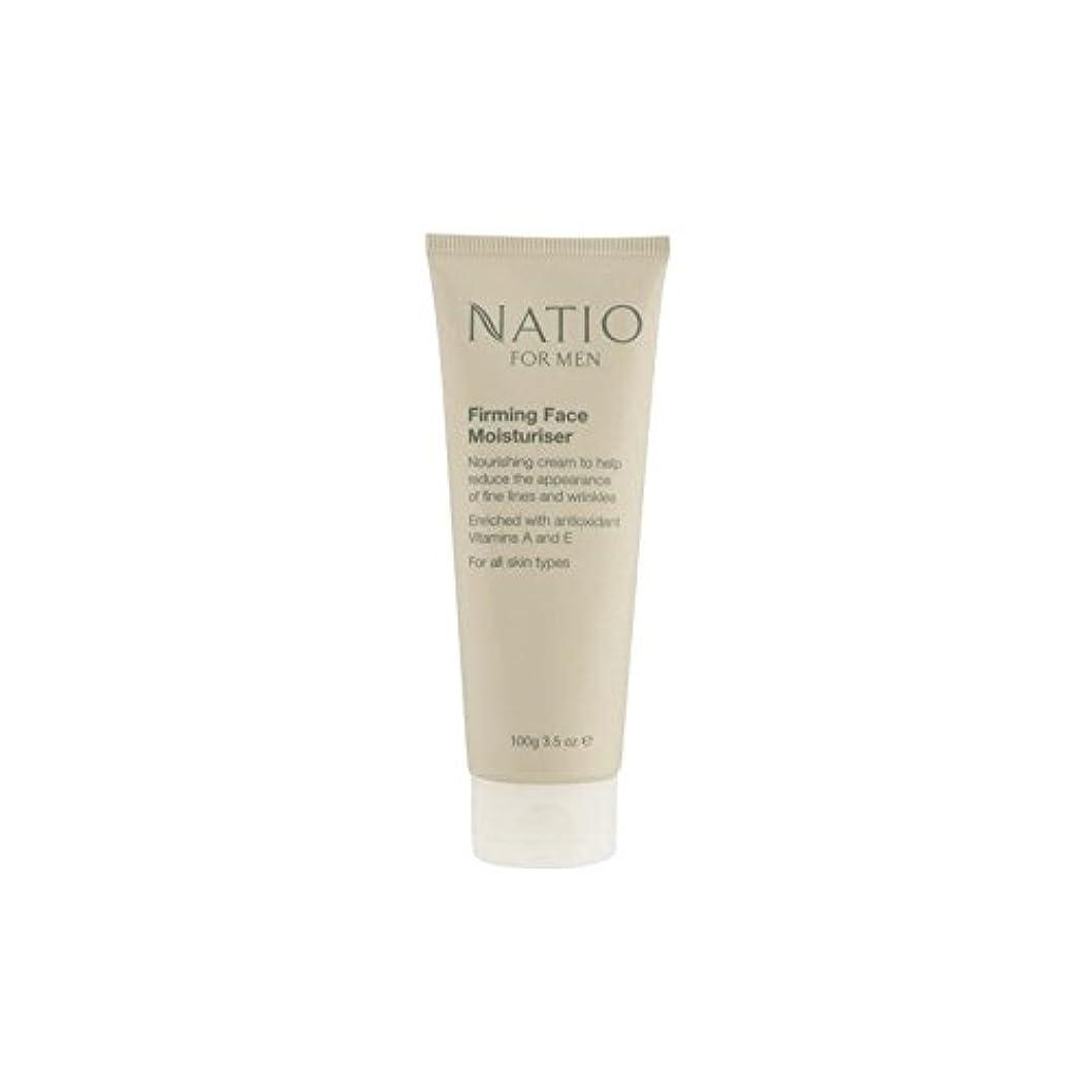 狂乱感覚脚本顔の保湿剤を引き締め男性のための(100グラム) x4 - Natio For Men Firming Face Moisturiser (100G) (Pack of 4) [並行輸入品]