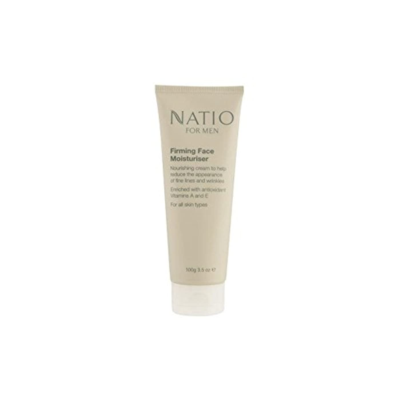 協力的ブランド名習熟度顔の保湿剤を引き締め男性のための(100グラム) x4 - Natio For Men Firming Face Moisturiser (100G) (Pack of 4) [並行輸入品]