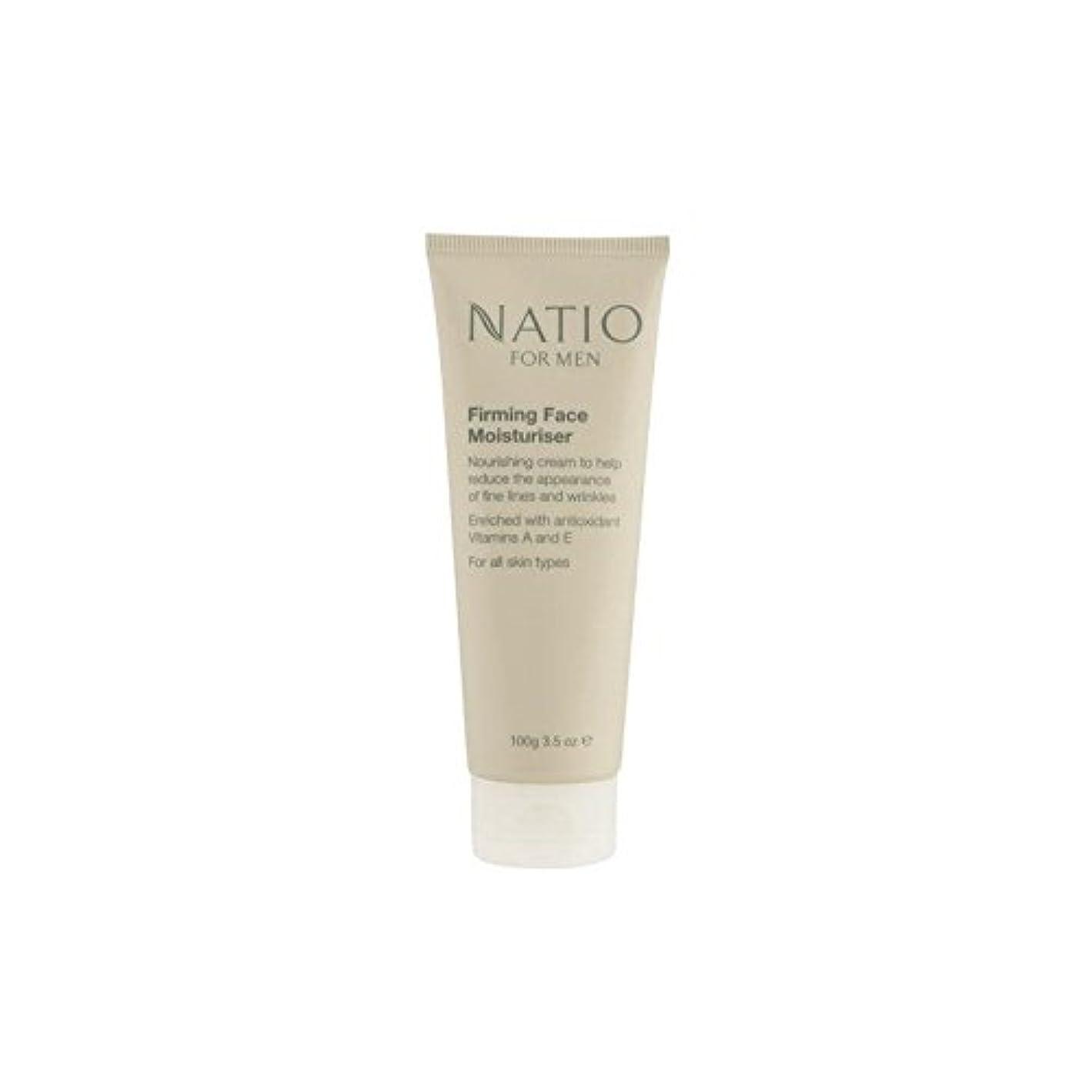 繰り返したミュウミュウ打撃Natio For Men Firming Face Moisturiser (100G) (Pack of 6) - 顔の保湿剤を引き締め男性のための(100グラム) x6 [並行輸入品]