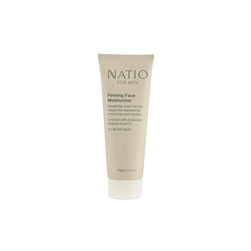 パリティ選挙最適Natio For Men Firming Face Moisturiser (100G) (Pack of 6) - 顔の保湿剤を引き締め男性のための(100グラム) x6 [並行輸入品]