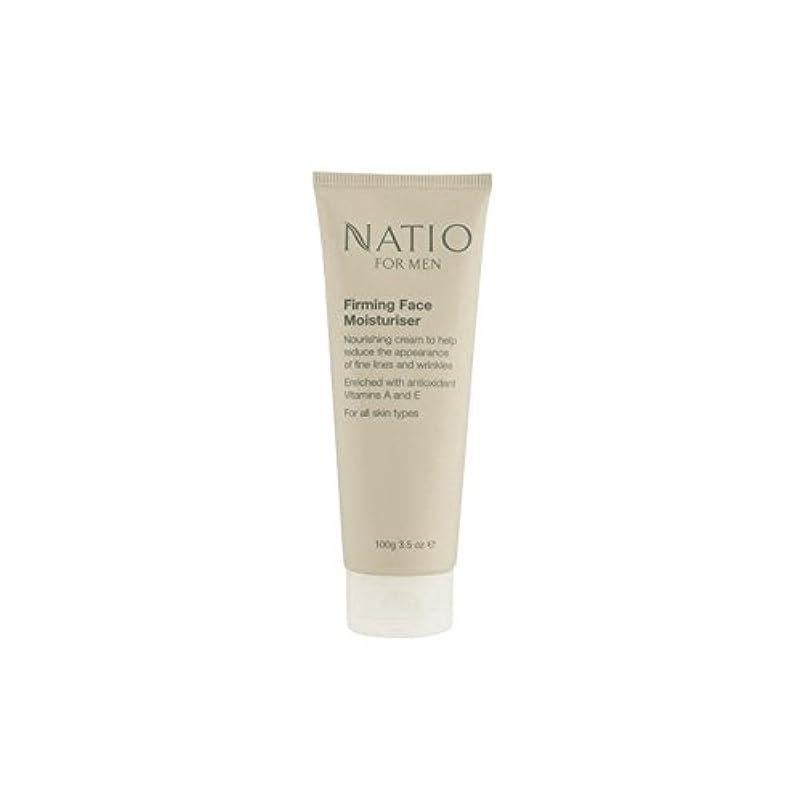 フライカイト頑丈誇り顔の保湿剤を引き締め男性のための(100グラム) x4 - Natio For Men Firming Face Moisturiser (100G) (Pack of 4) [並行輸入品]