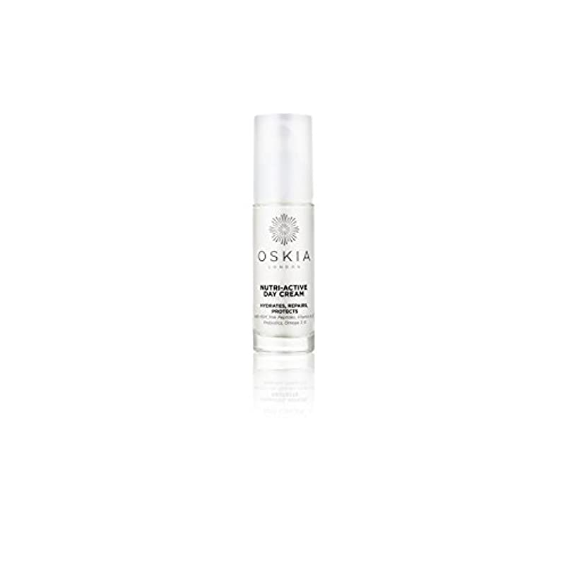 クレデンシャルきしむのニュートリアクティブデイクリーム(40ミリリットル) x4 - Oskia Nutri-Active Day Cream (40ml) (Pack of 4) [並行輸入品]