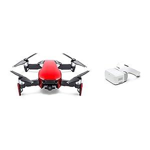 【国内正規品】DJI ドローン Mavic Air Fly More コンボ (フレイムレッド) + DJI Goggles