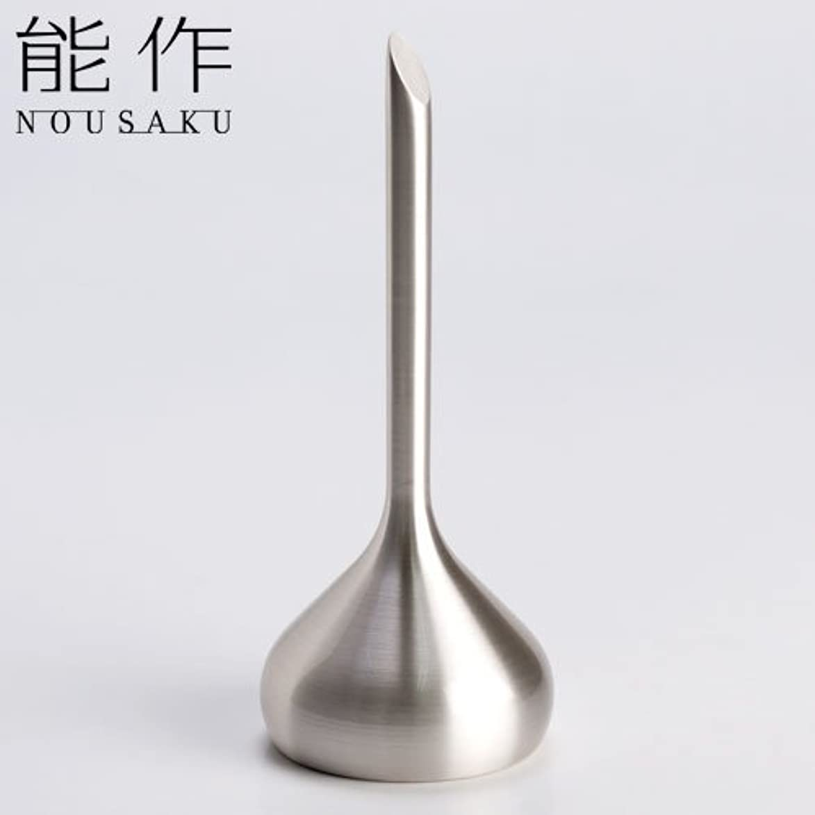 悪名高い命題シンプルな能作 ベル(呼び鈴)オニオンシルバー能作真鍮製のインテリア?ホームアクセサリー卓上ベル
