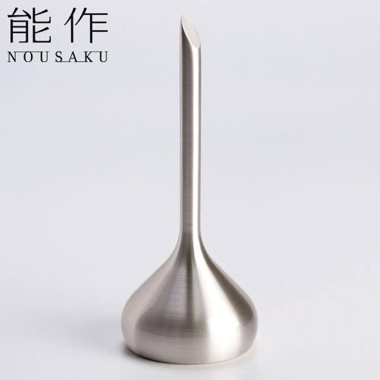 許容できるはっきりしない凍った能作 ベル(呼び鈴)オニオンシルバー能作真鍮製のインテリア?ホームアクセサリー卓上ベル