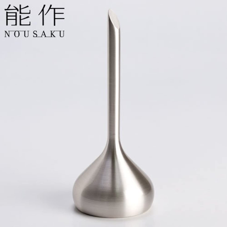 変える母音枕能作 ベル(呼び鈴)オニオンシルバー能作真鍮製のインテリア?ホームアクセサリー卓上ベル