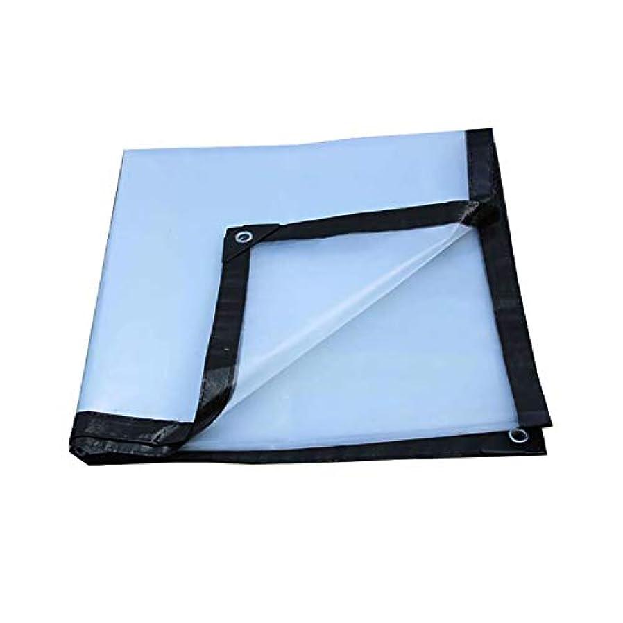 決めます降伏幻影19-yiruculture 屋外のテントの透明な防水シート、耐雨性の日焼け止めの防水シートの植物の防塵の防風の小屋の布の絶縁布の高温反老化 (Color : A, サイズ : 4*6m)