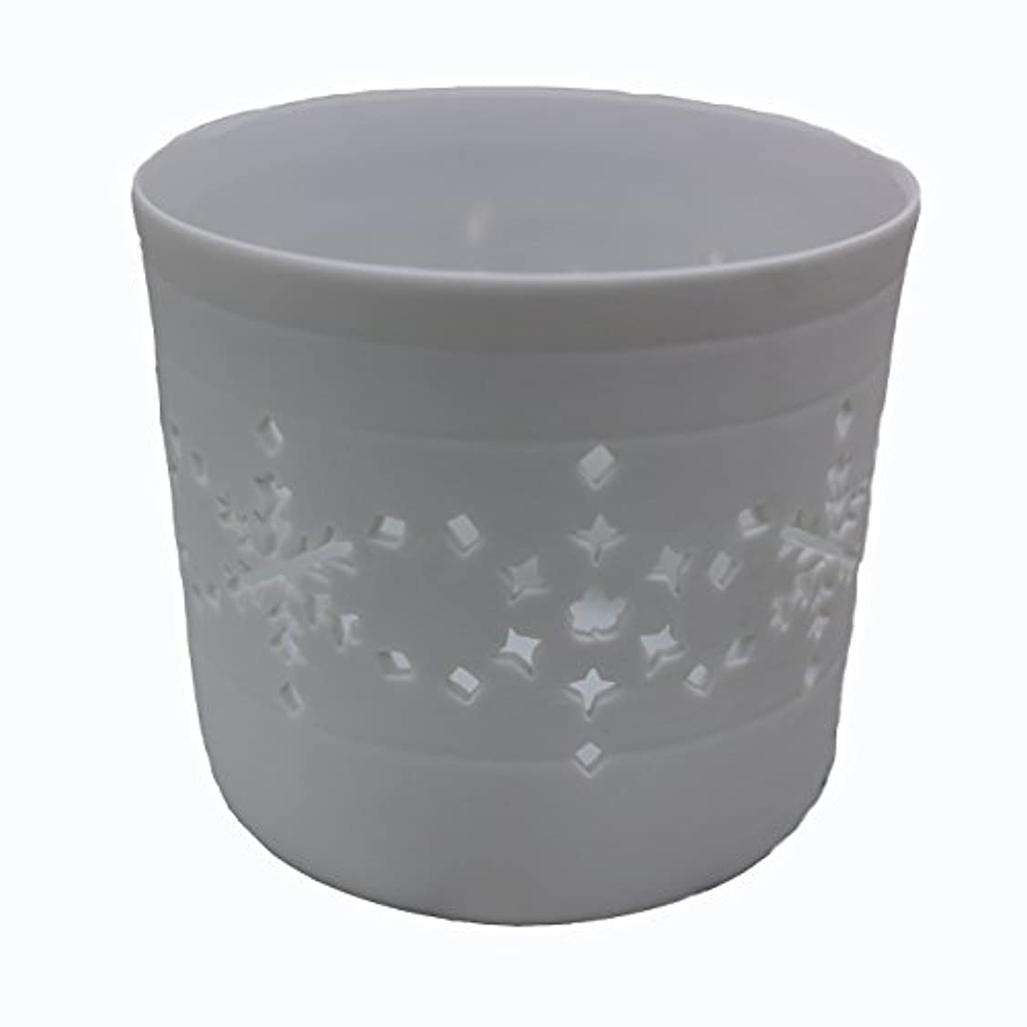 反対する深める接続詞キャンドルカップ(ティーライト付き) 結晶