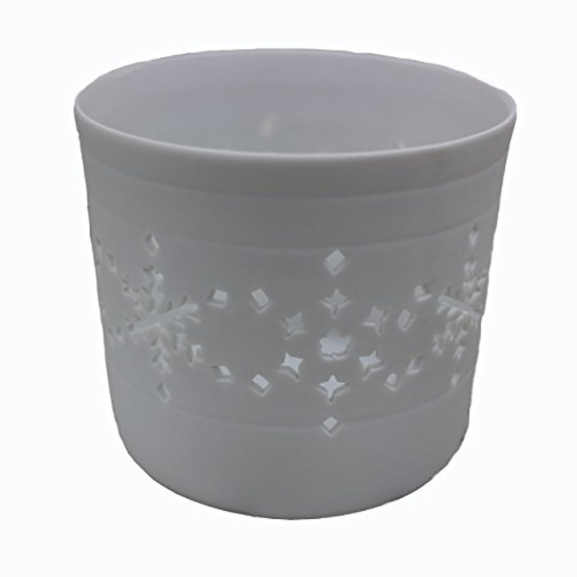 魅惑的な想像力豊かなブローキャンドルカップ(ティーライト付き)結晶
