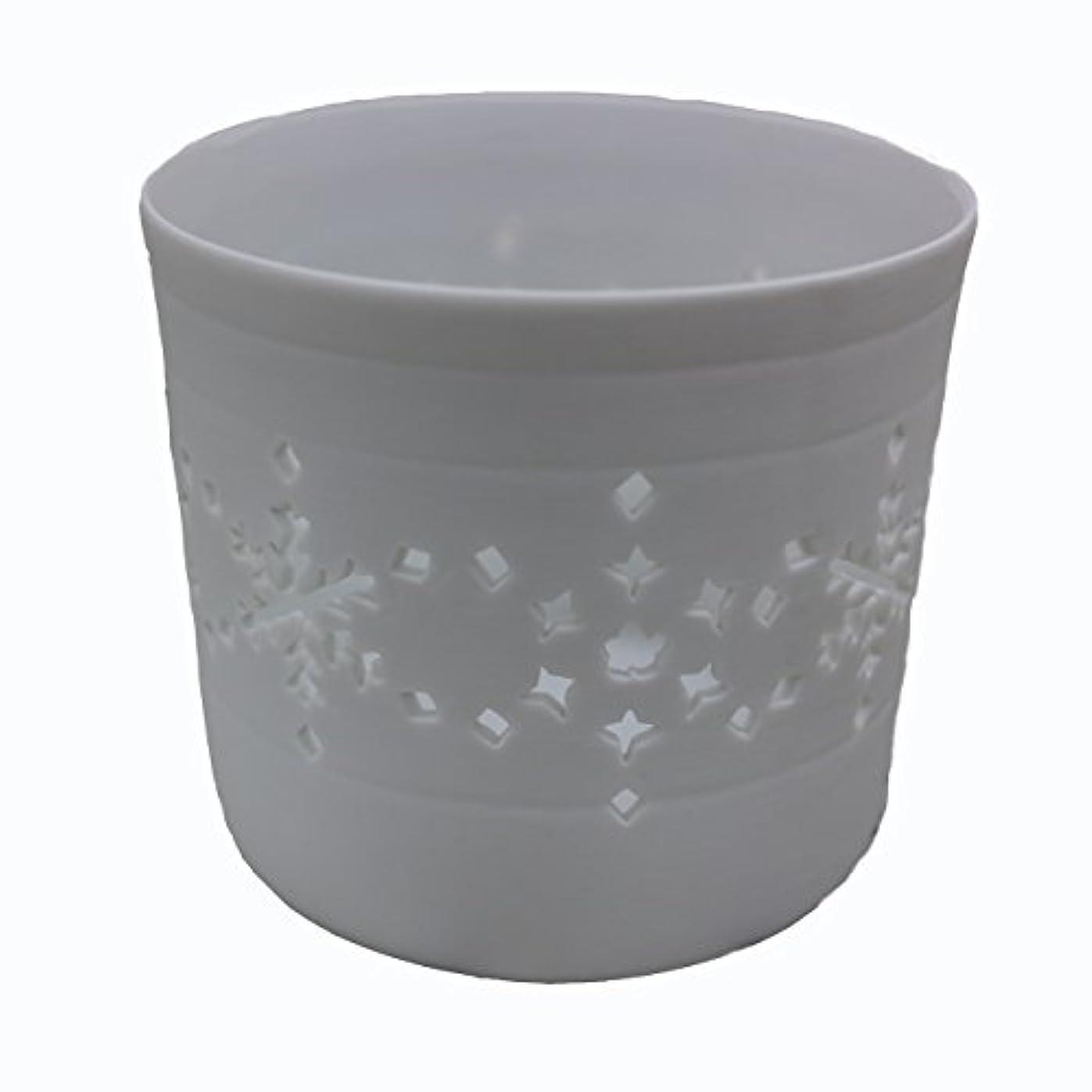文吸収南方のキャンドルカップ(ティーライト付き) 結晶
