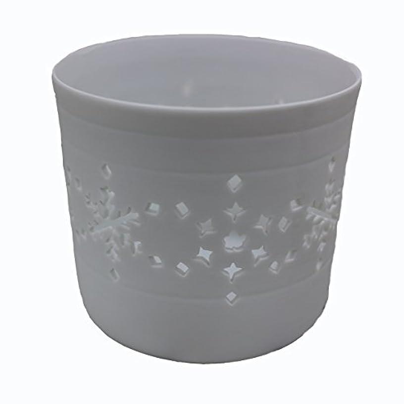 ライドアンビエント対角線キャンドルカップ(ティーライト付き)結晶